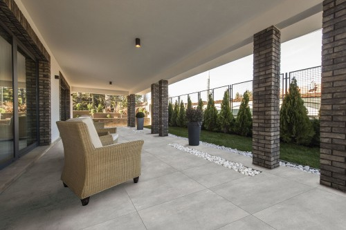 Piso Ceramico 60x60 concret gray Ret