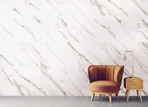 Cejatel Doha white plus, interno, PEI 4, 60x60 retif.