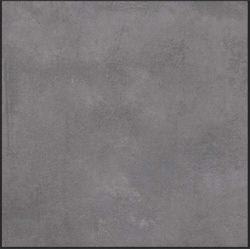 Piso Cerâmico Cejatel Concret Dark Retif., acetinado, 60x60, PEI 4