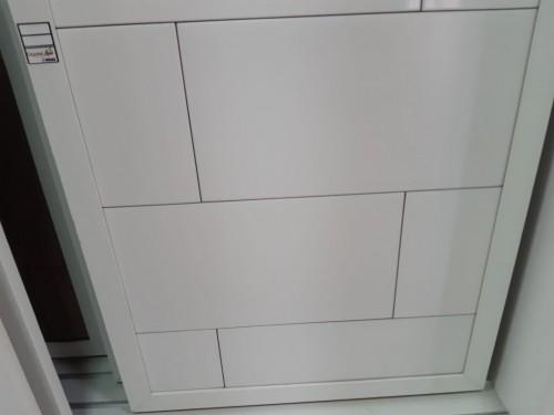 Revestimento piso e parede Cejatel white mate acetinado retif., PEI 4, 30x58