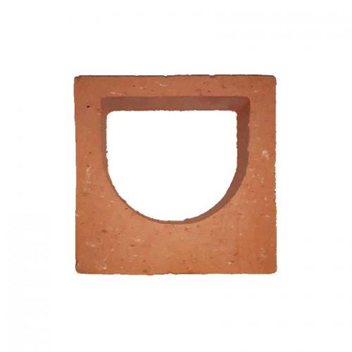Cobogó Bumba 18,5x18,5 cm cerâmico